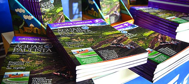 Evento:Catálogo Turístico do Circuito das Águas Paulista. Na Fot