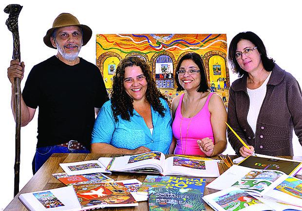 artistas projeto Cor Acao